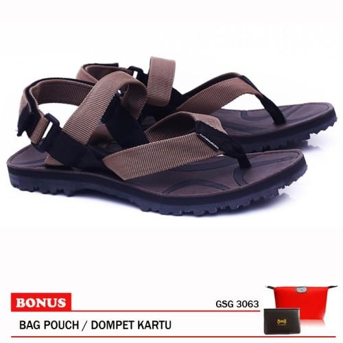 Foto Produk Garucci-Sandal Gunung GSG 3063 Brown dari artatikashop