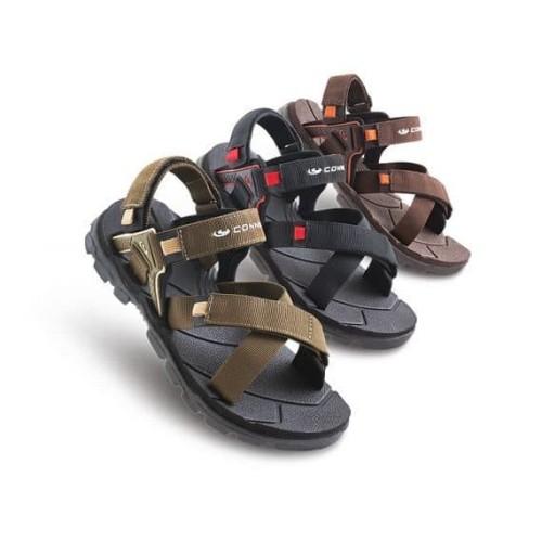 Foto Produk Connec CAPITANO Sepatu Sendal Sandal Gunung Hiking Pria Cowok Original dari artatikashop