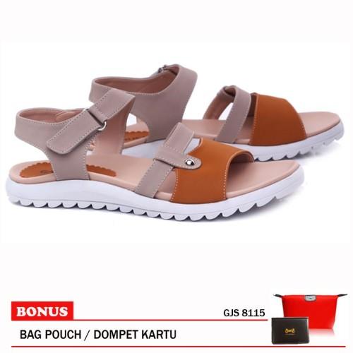 Foto Produk Garucci-Sandal Flat GJS 8115 Tan dari artatikashop