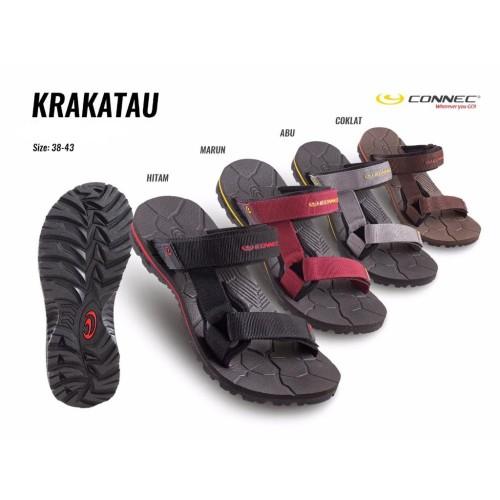 Foto Produk CONNEC KRAKATAU Sendal Sandal Jepit Casual Pria Cowok MEN Original dari artatikashop