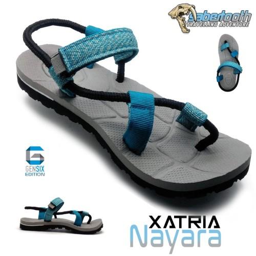 Foto Produk SABERTOOTH Sandal Gunung Traventure Xatria Nayara size 36 s d 47 dari artatikashop