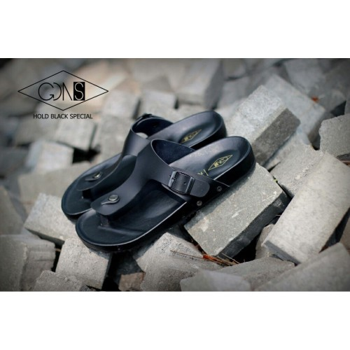 Foto Produk SENDAL PRIA GOODNESS HOLD BLACK SPECIAL GOODNESS FOOTWEAR SANDAL PRIA dari artatikashop