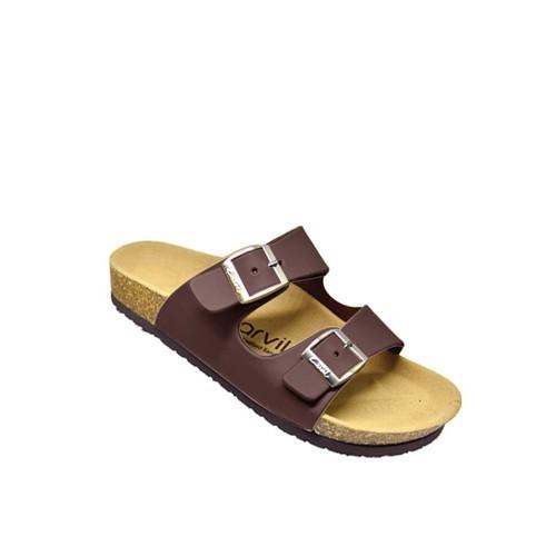 Foto Produk Sandal Footbed Carvil Jaden 02 M Brown dari artatikashop