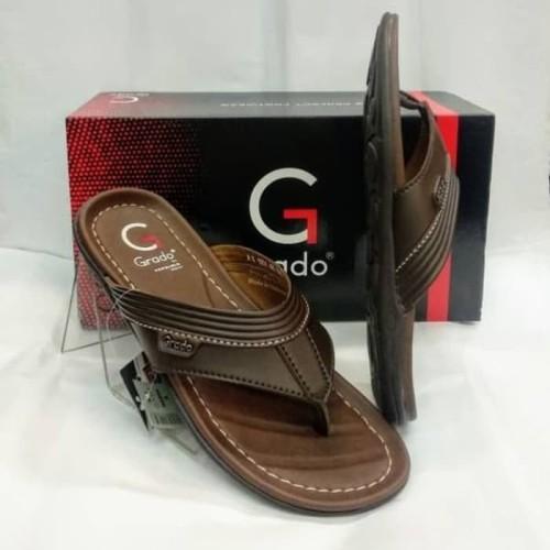 Foto Produk sandal murah grado G 1051 coklat tua.made by pakalolo dari artatikashop