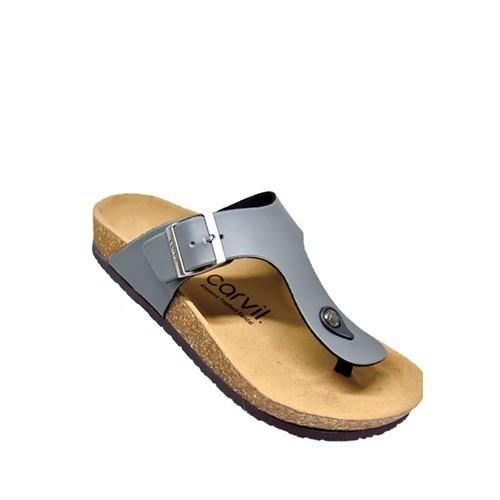 Foto Produk Sandal Footbed Carvil Jaden 01 M Grey dari artatikashop