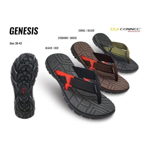 Foto Produk CONNEC GENESIS Sendal Sandal Jepit Casual Pria Cowok MEN Original dari artatikashop