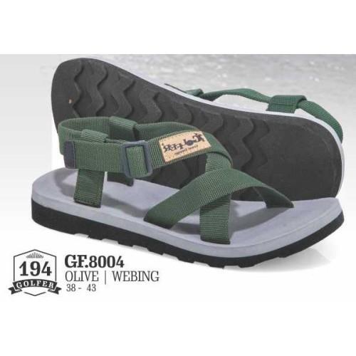 Foto Produk Sandal Gunung Hiking Pria Webbing Olive GF 8004 Golfer Bandung dari artatikashop