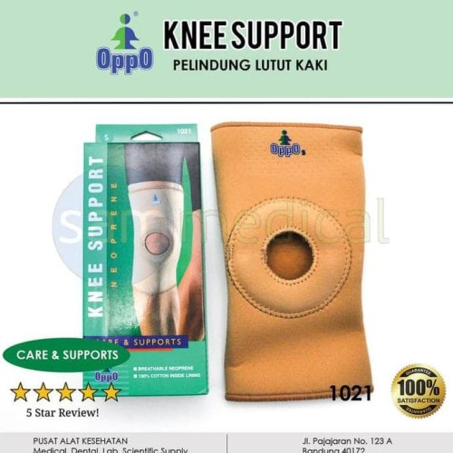 Foto Produk New Oppo 1021 Open Patella Knee Support decker lutut - SIZE XL dari Yunasri shop