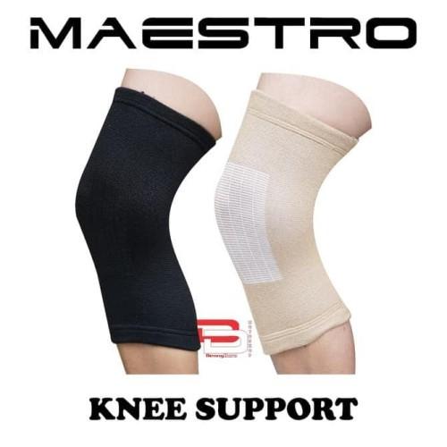 Foto Produk New Knee support Maestro - Hitam dari Yunasri shop