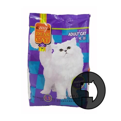 Foto Produk my dear cat 1.5 kg adult seafood dari F.J. Pet Shop