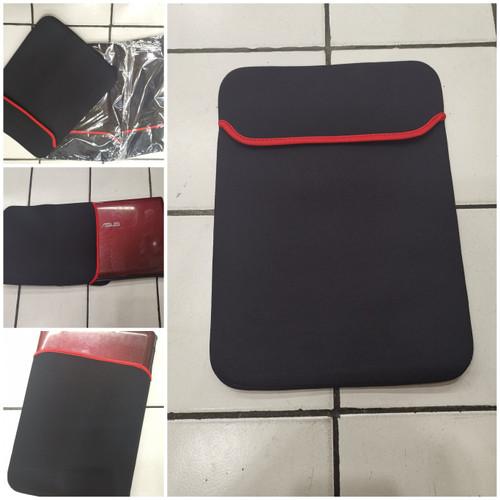 """Foto Produk Softcase Laptop / Amplop Laptop / Sarung Laptop 14"""" Inch / Tas Laptop - Hitam dari ConnectedHMD"""
