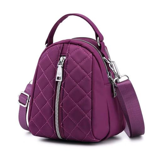 Foto Produk Tas Wanita Import Jinjing dan Selempang CHIBAO Mini CB1818 1818 Bordir - Purple dari maju laku