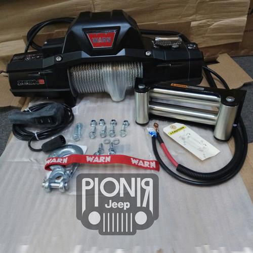 Foto Produk Sling Mobil Derek Kapal Elektrik Winch Warn Zeon 8 Original USA dari PIONIR JEEP