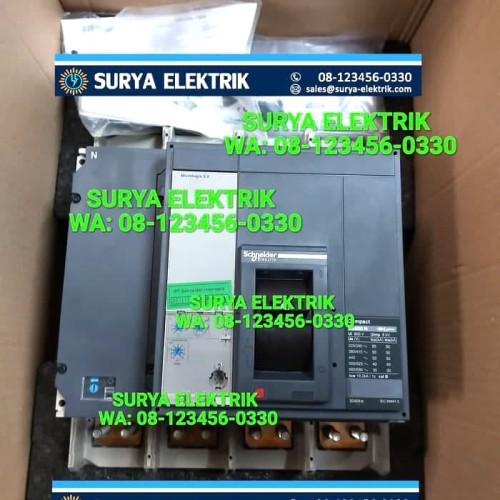 Foto Produk SCHNEIDER MCCB NS1600N NS1600 N 1600A 1600 A AMPER 4POLE 4P 50kA 33484 dari SURYA-ELEKTRIK