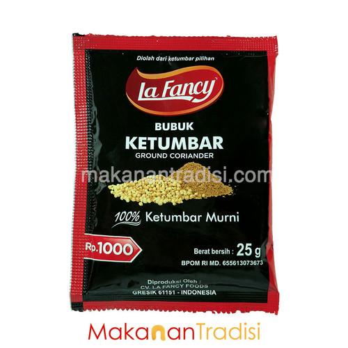 Foto Produk Ketumbar Bubuk/ Ground Coriander La Fancy/ 100% Ketumbar Murni 25 gr dari Makanan Tradisi Id