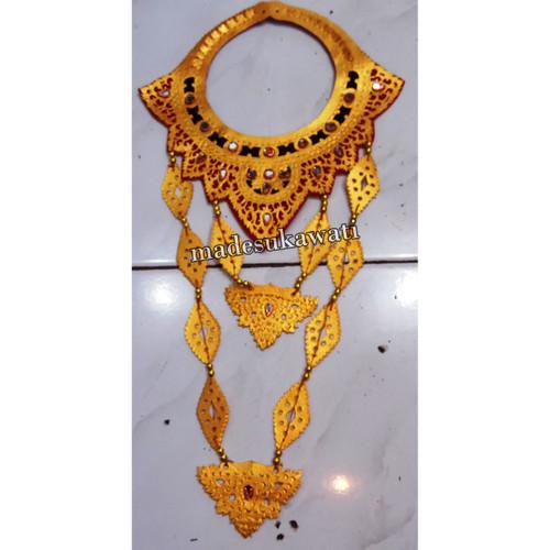 Foto Produk badong lenter kalung kulit penari bali dari made sukawati