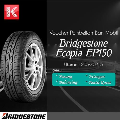 Foto Produk Ban Mobil Bridgestone Ecopia EP150 205/70R15 Vocer dari Kiosban