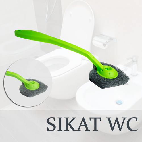 Foto Produk Sikat Sudut Kloset / Sikat WC / Toilet Brush Scotch brite ID-55 dari Tchome Official Store