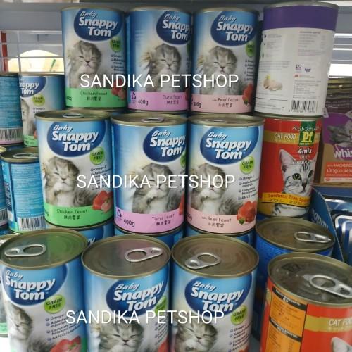 Foto Produk Makanan Anak Kucing SNAPPY TOM BABY KITTEN 400 GRAM ALL VARIANS dari Sandika Petshop