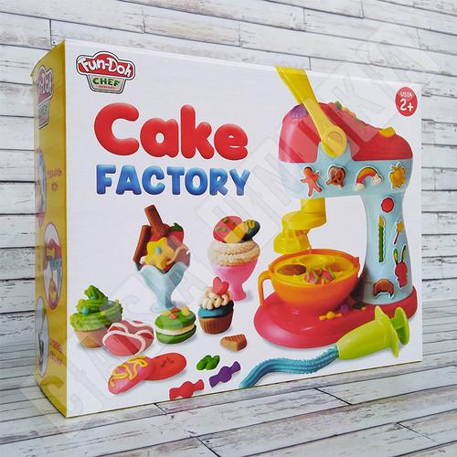 Foto Produk Fun Doh Cake Factory - Lilin Mainan FunDoh / PlayDoh / Play Doh dari Casa Unika