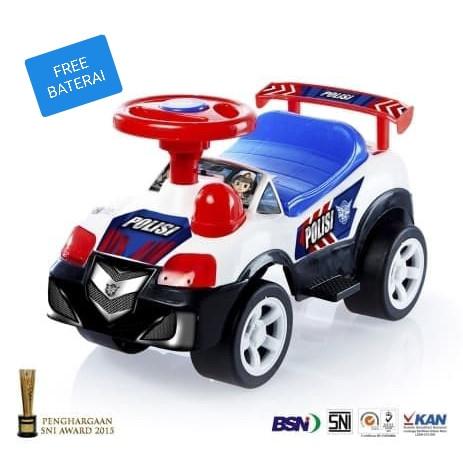 Foto Produk MAINAN ANAK/mobilan anak/mobil dorong polisi/shp toys/PC 579 dari EAZYTOYS