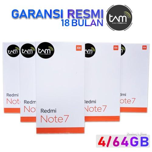 Foto Produk Xiaomi Redmi Note 7 4/64GB Garansi TAM Resmi - RAM 4GB 4 GB 4/64 GB dari ramdany