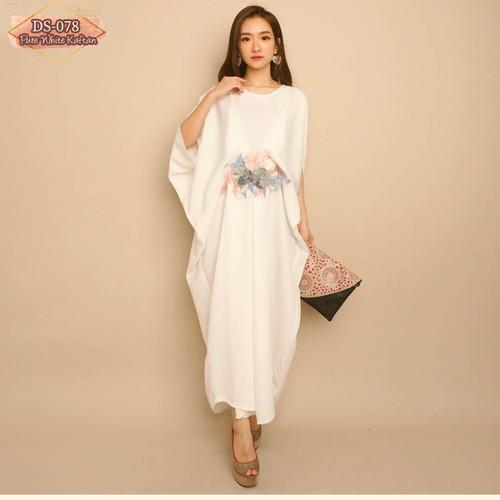 Foto Produk Baju Wanita PURE WHITE KAFTAN dari Miveriella