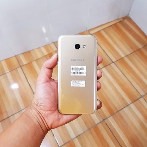 Foto Produk Samsung Galaxy A7 2017 Gold Like New BNOB dari Mahasiswagila