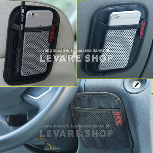 Foto Produk Car Storage Organizer Kantong di Mobil - Net Pocket Tempat HP dll (S) dari Levare Shop