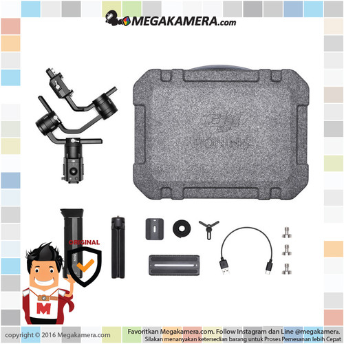 Foto Produk DJI Ronin-S Essentials Kit - Stabilizer Gimbal Ronin S dari Megakamera