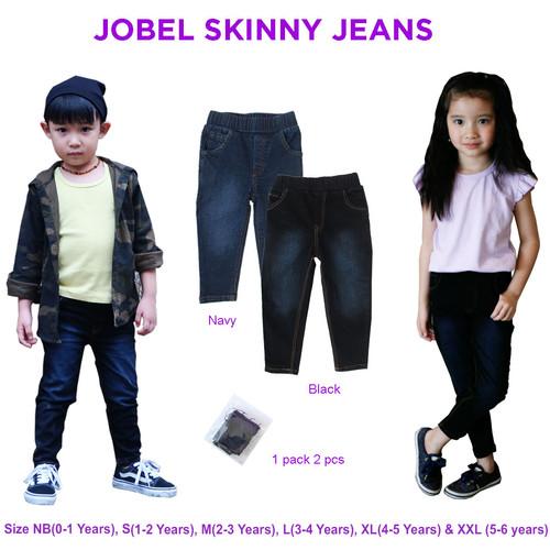 Foto Produk Jobel Skinny Jeans Unisex 0-5Thn - NB 0-1Thn dari Kazel Babywear