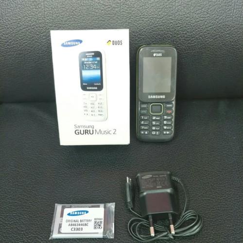 Foto Produk HP SAMSUNG Piton B310 Handphone SM-B310E Guru Music 2 Dual sim card dari Rainen
