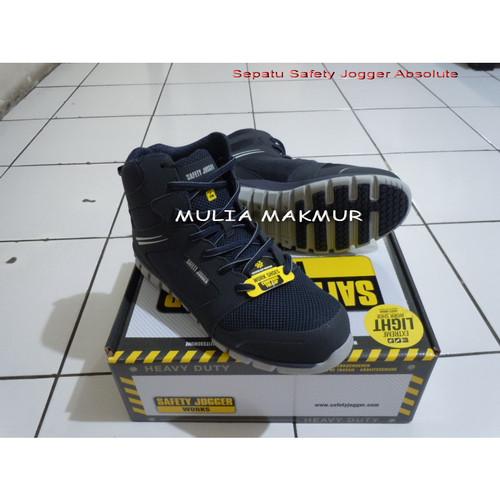 Foto Produk Sepatu Safety Jogger Absolute S1P Navy dari Mulia Komputer