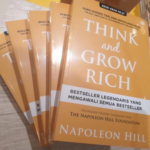 Foto Produk Think And Grow Rich - Cover Baru (Napoleon Hill) dari BukuGalileo