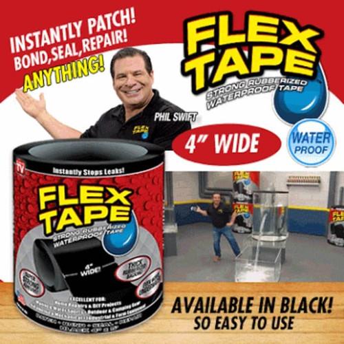 "Foto Produk ""Flex Tape 4"""" x 1,5 m isolasi Lakban ajaib Waterproof As Seen on TV"" dari lbagstore"