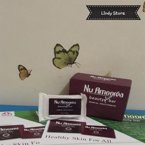 Foto Produk NU AMOOREA BEAUTY PLUS BAR 15GR STEMCELL ORIGINAL (FREE BUBBLE WRAP) dari Lindy Store