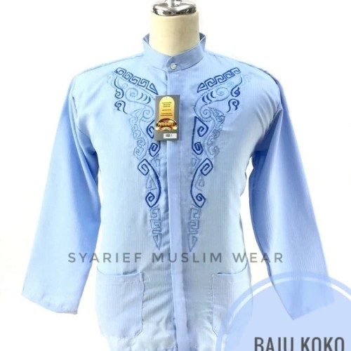 Foto Produk Baju Koko Lengan Panjang Rahmat - Murah Berkualitas dari Syarief Muslim Wear