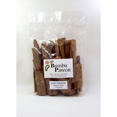 Foto Produk BP009B Kayu Mesoyi, Massoia Bark 150 gram dari Bumbu Pawon.Id
