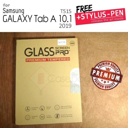 Foto Produk Samsung Galaxy Tab A 10 10.1 A10 2019 T515 - Premium Tempered Glass - Clear dari Casebagus