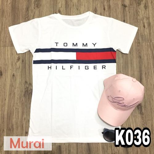 Foto Produk K036 - Kaos / Tumblr Tee / T-Shirt Wanita / Cewek Tomy dari Murai Tebas