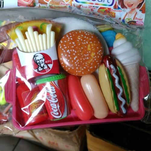 Foto Produk Mainan Masak Masakan KFC Mainan Burger dari Jenggot Berkah Abadi
