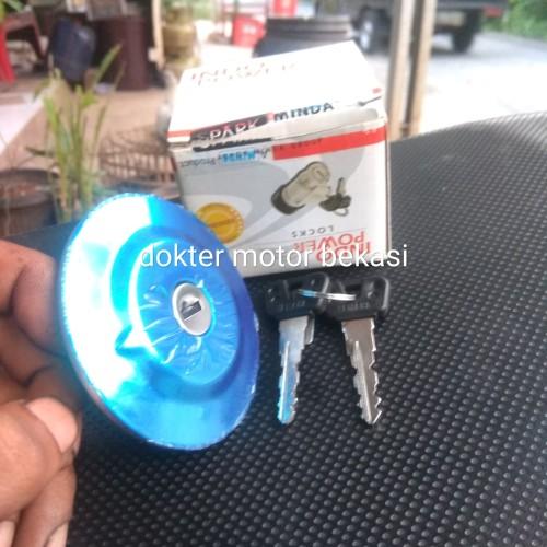 Foto Produk kunci tutup tangki bensin vixion old original dari dokter motor
