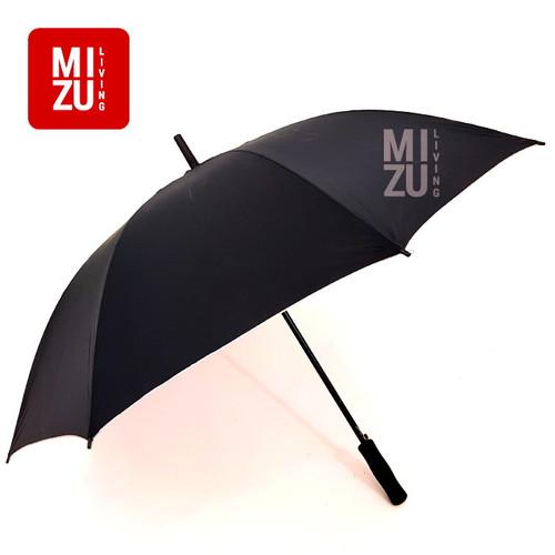 Foto Produk Payung Golf Tongkat BESAR Lapisan ANTI UV IR Silver - BLACK Hitam dari MIZU Living