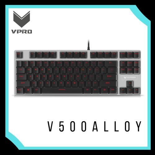 Foto Produk VPRO MECHANICAL GAMING KEYBOARD V500 ALLOY dari Gamer's Outpost