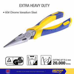 Foto Produk Tang Lncip X-Tra Heavy Duty American Tool 6inci 8958315 dari American Tool & Secure