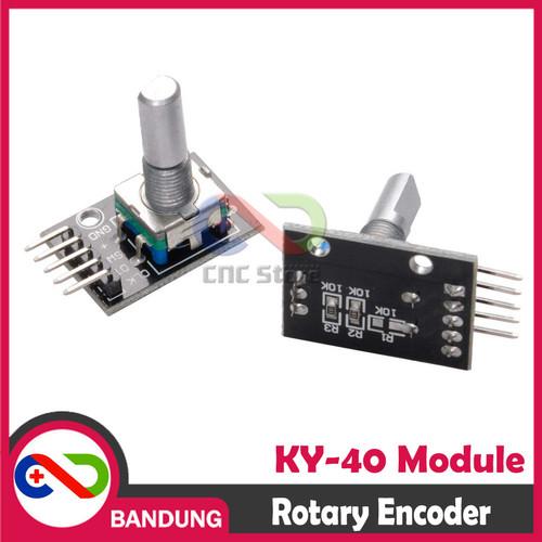 Foto Produk [CNC] KY-40 ROTARY ENCODER SENSOR MODULE FOR ARDUINO NANO MINI UNO 256 dari CNC STORE BANDUNG