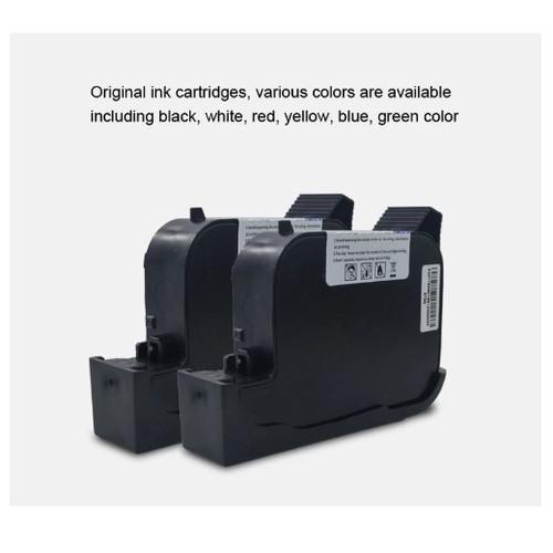Foto Produk BLACK, Quick Dry Ink Cartridge For Handjet Printer BXH20 dari DigitekMart