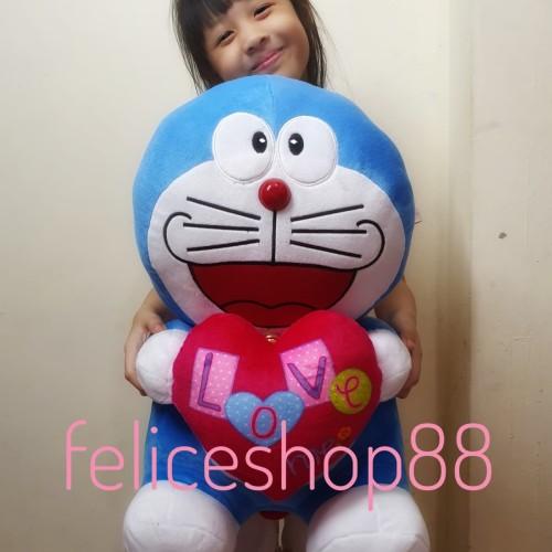 Foto Produk boneka doraemon love dari feliceshop88