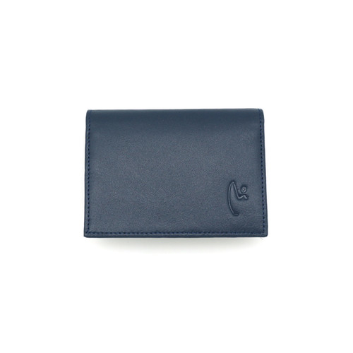 Foto Produk VERMONT K002 Navy Blue Genuine Leather Card Holder Original dari VERMONT LEATHER