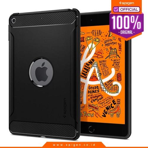 Foto Produk Case iPad Mini 5 Spigen Softcase Carbon Fiber Rugged Armor Casing dari Spigen Official